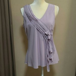Spense sleeveless blouse size Medium